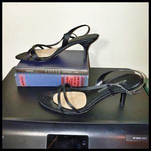 Michael Shannon Kitten Heel Sandals